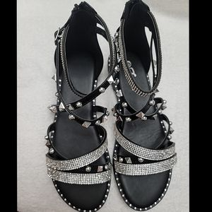 Just In  Gladiator studded sandals